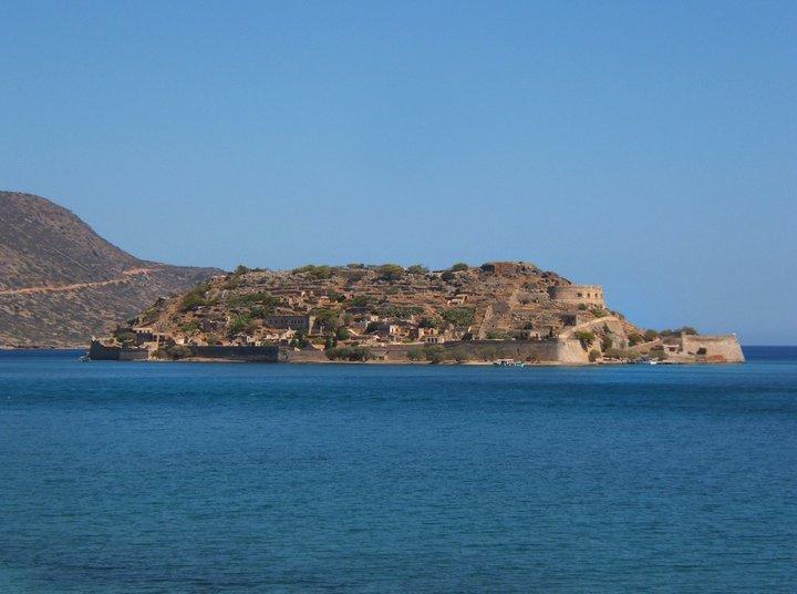Spinalonga island.